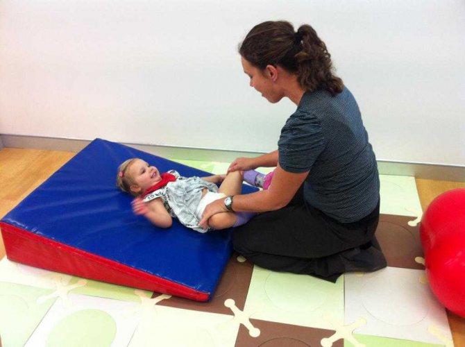 Работа с малышами с ДЦП